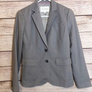 Banana Republic Sleek Gracious Grey Suit Jacket